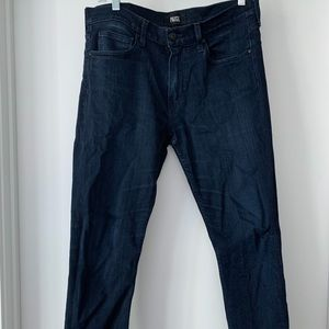 Paige Men's Dark Slim Indigo Denim - Size 31